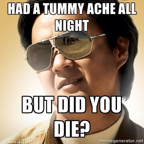 but did u die