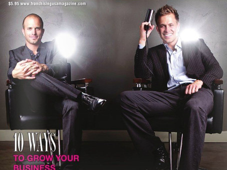 Franchising USA cover features Image Studios