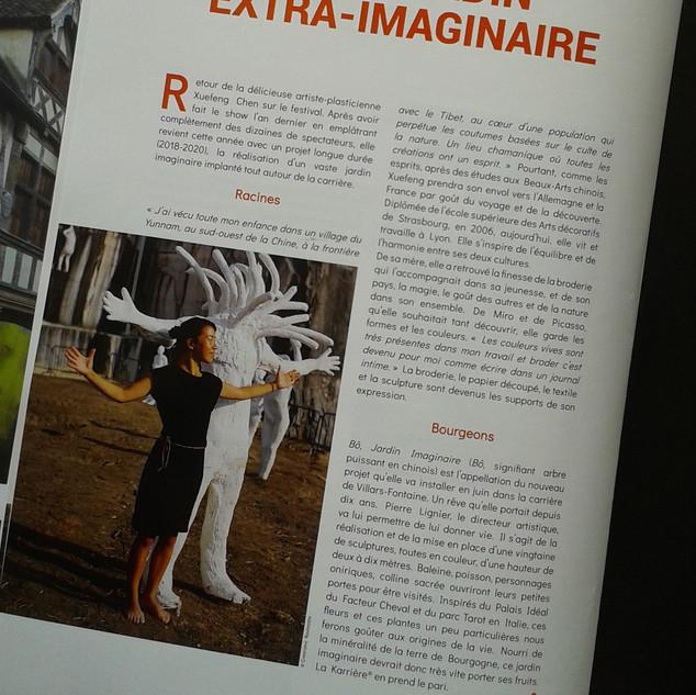 2018 > Magazine Beaune Collector W BÔ Jardin
