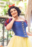 Princess Snow White Hero  birthday parties and fairy tale events in Omaha Nebraska by professional children's character entertainers.