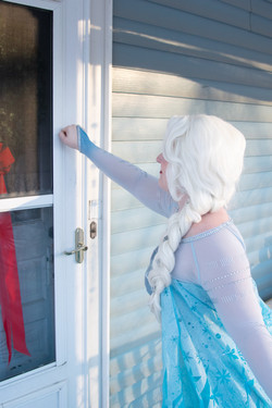 Snow Queen Visiting Birthday Girl