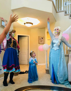 Frozen Sisters Birthday Party Omaha