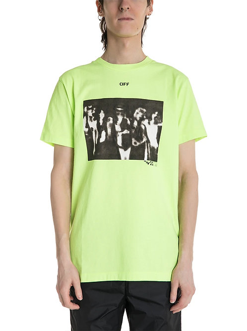 OFF-WHITE c/o Virgil Abloh Spray Painting Tee
