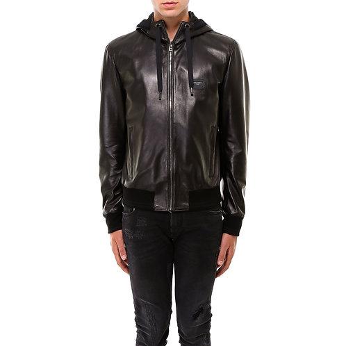 Dolce& Gabbana Leather Jacket