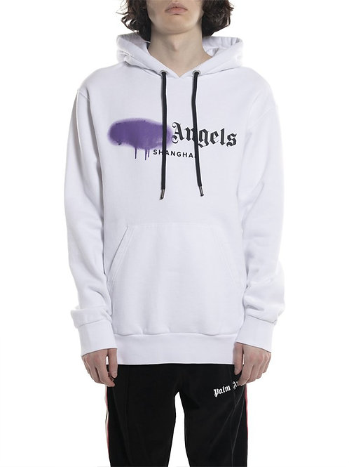 Palm Angels Shanghai Sprayed Hoodie