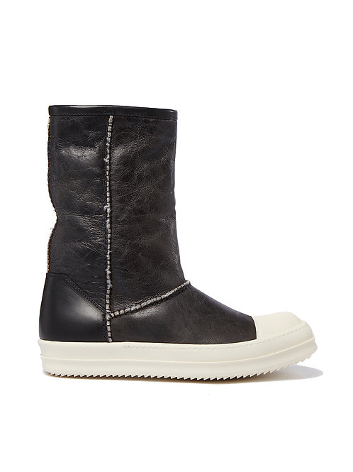 Rick Owens Shearling Sneakers
