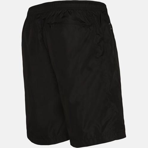 85ebd557a32e1 MONCLER - LOGO NYLON SWIM SHORTS - BLACK MONCLER LOGO NYLON SWIM SHORTS