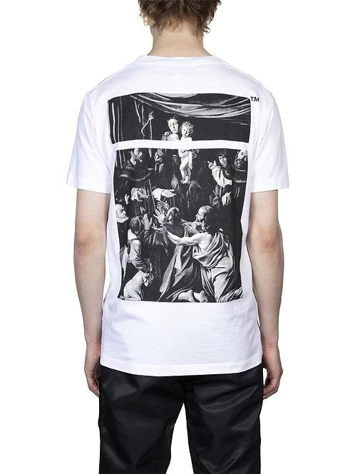 OFF-WHITE c/o Virgil Abloh Caravaggio Square Slim Tee