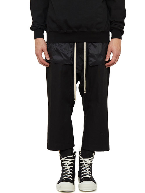 Drkshdw Drawstring Cargo Cropped Pants