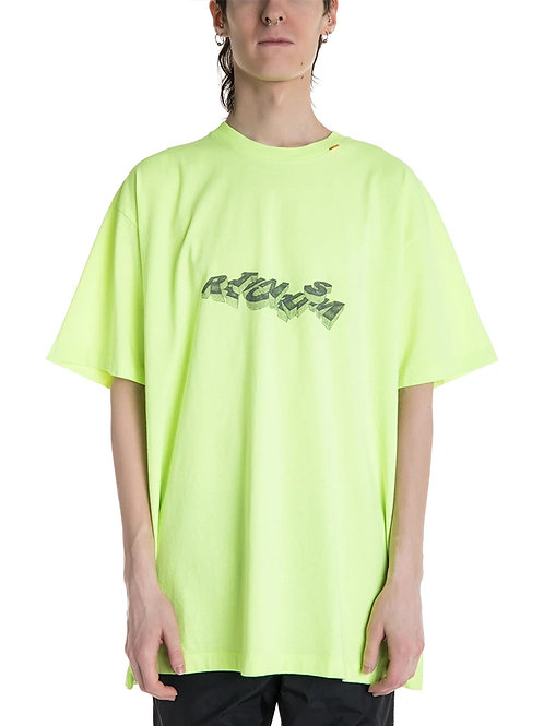 OFF-WHITE c/o Virgil Abloh 3D Pencil Oversized Tee