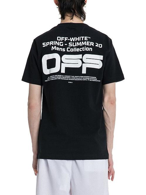 OFF-WHITE c/o Virgil Abloh Wavy Line Logo Tee