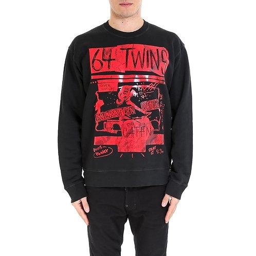 Dsquared2 Printed '64 Twins' Sweatshirt