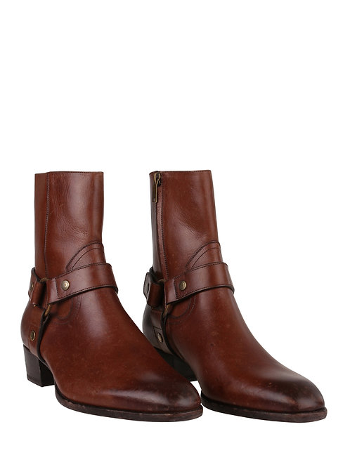 Saint Laurent Paris Wyatt Boots