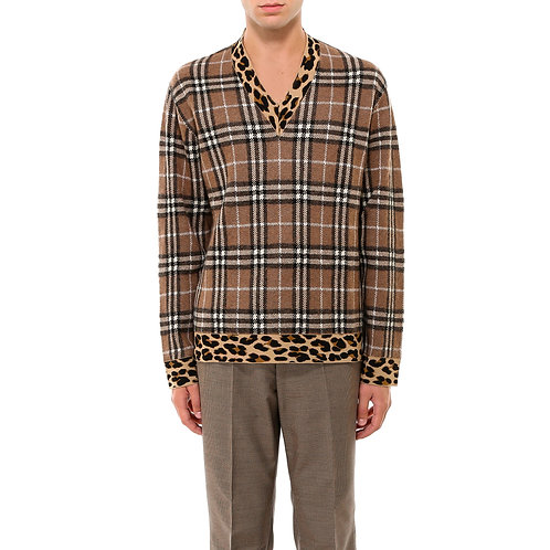 Burberry Check Sweater