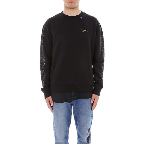 Off-white Diag Unifinished Sweater