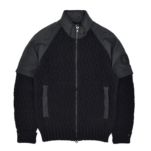 Stone Island Shadow Project Convertible Knitted Jacket
