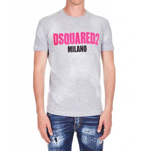 DSQUARE2 Print Logo T-Shirt