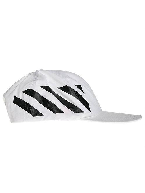 Off-White c/o Virgil Abloh Diag Striped Baseball Cap