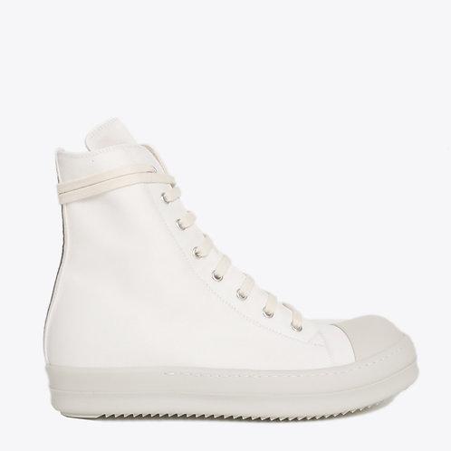 Rick Owens - Drkshdw Hi top lace up nylon sneaker