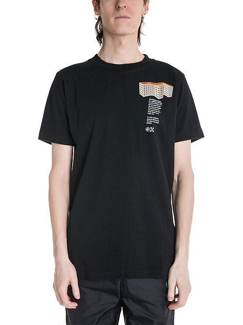 "OFF-WHITE c/o Virgil Abloh ""Rationalism"" Building Tee"