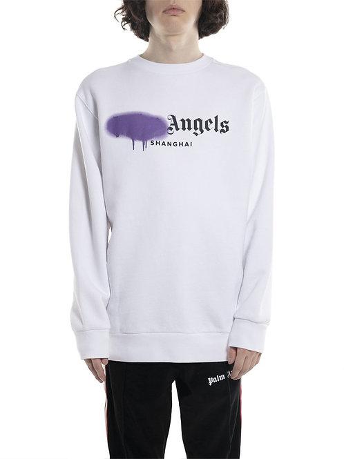Palm Angels Shanghai Sprayed Sweatshirt