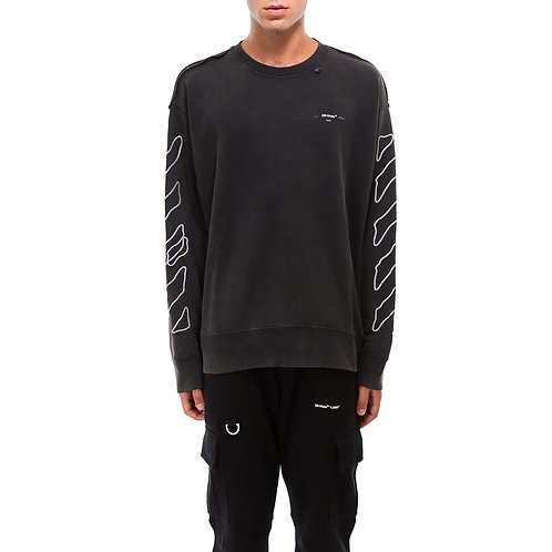 Off-white Abstract Arrows Sweater