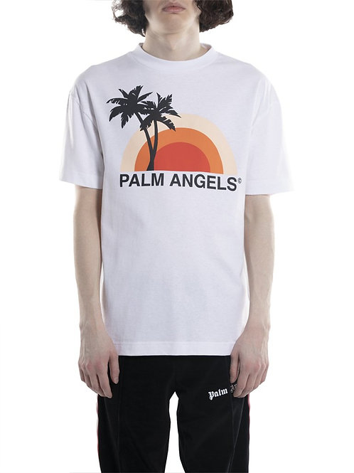 Palm Angels Sunset Logo Tee