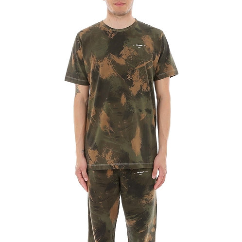 Off-White Camouflage T-Shirt