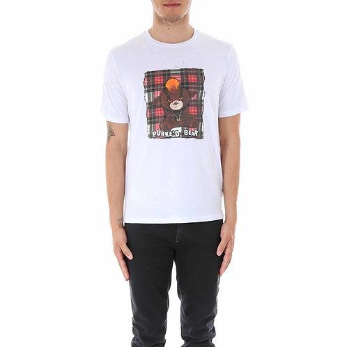 Neil Barrett Punked Bear T-Shirt