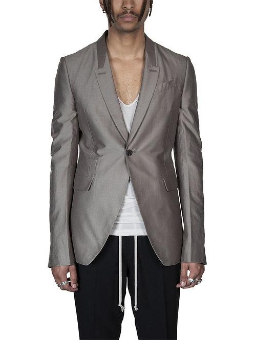 Rick Owens Tecuatl Tatlin Lapel Suit Jacket