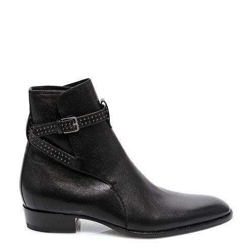 SAINT LAURENT Wyatt Jodhpur Boots