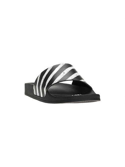 OFF-WHITE c/o Virgil Abloh Spray Stripes Slider Flip Flop