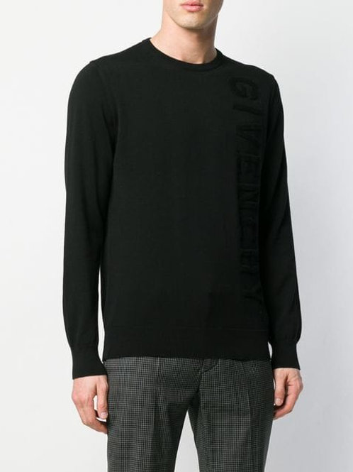 Givenchy logo crew neck jumper