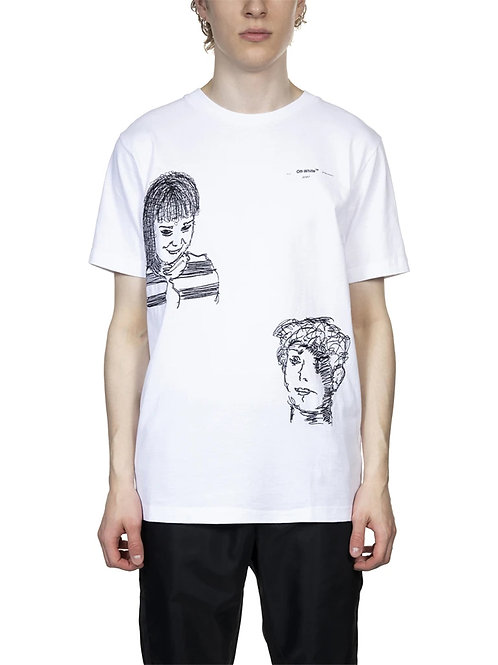 OFF-WHITE c/o Virgil Abloh Little Girl Slim Tee