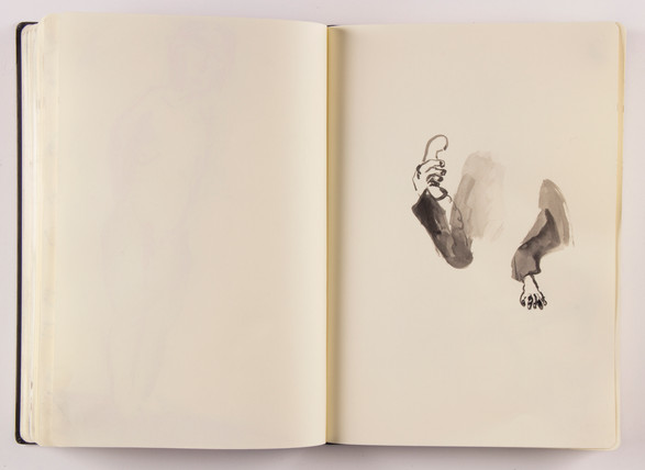 Sketchbook project, commissioned by Onassis Cultural Centre, Greece