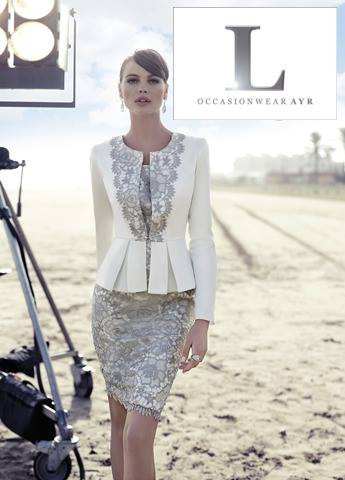 Carla Ruiz 91235 Suit from L Occasionwear Ayr