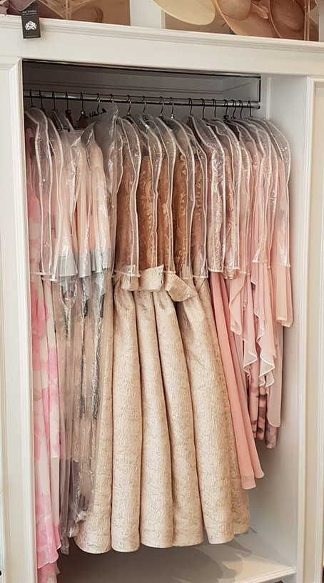 Blush mother of bride dresses