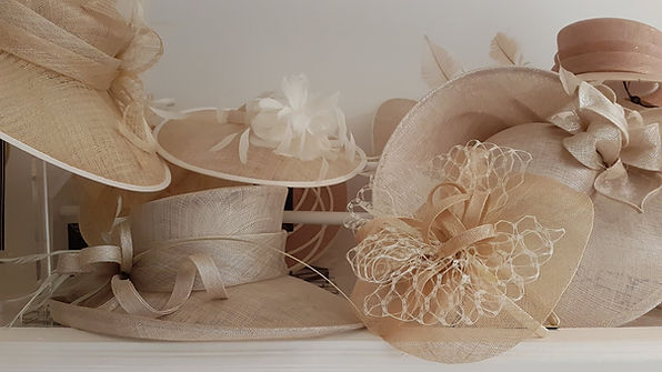 Hat and fascinator collection
