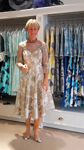 Mother of Bride dress with just enough sparkle!