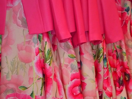 Pretty in fabulous pinks!