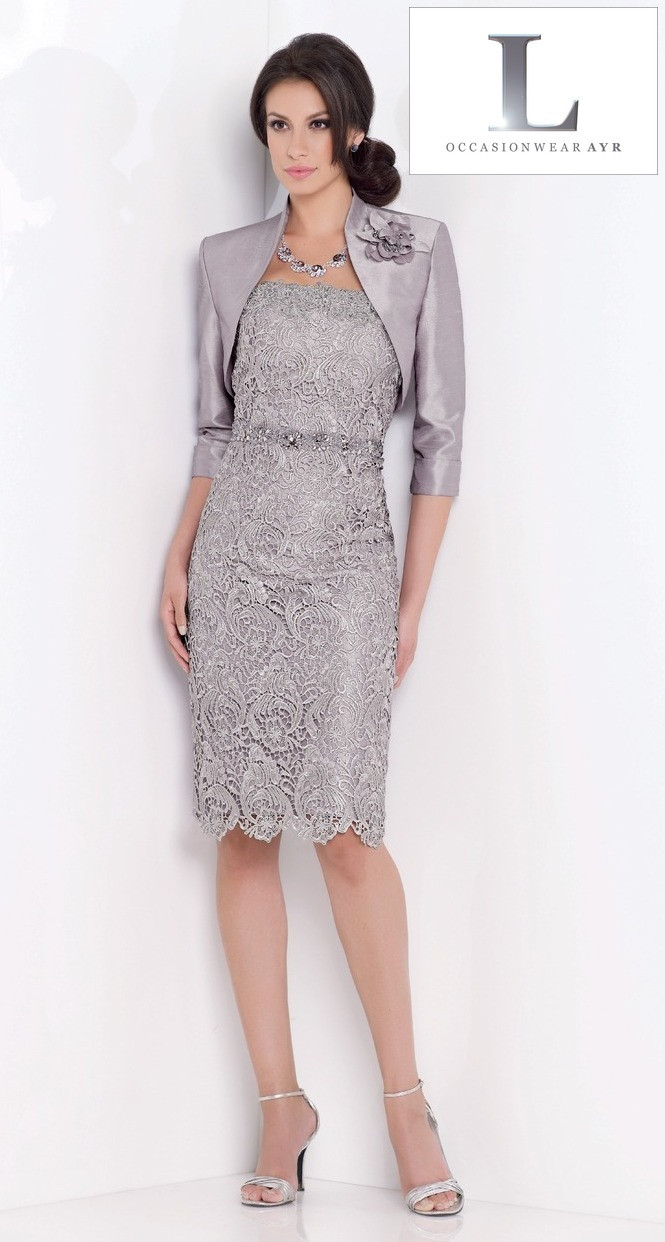 Mon Cheri Suit from L Occasionwear Ayr.