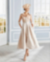 Mother of bride dress Glasgow. Marfil 4G