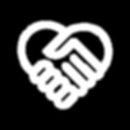 Heart & Hands Outline