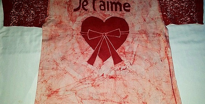 Je t'aime Red T-shirt