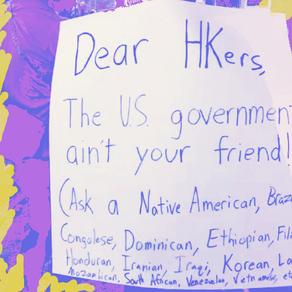 美國為什麼會支持反送中運動?——美國朋友對港人揮動星條旗的想法