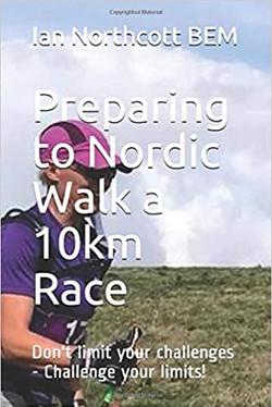 Preparing to Nordic Walk a 10km Race