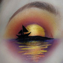 Sunset inspired by _lunafortun 💞_