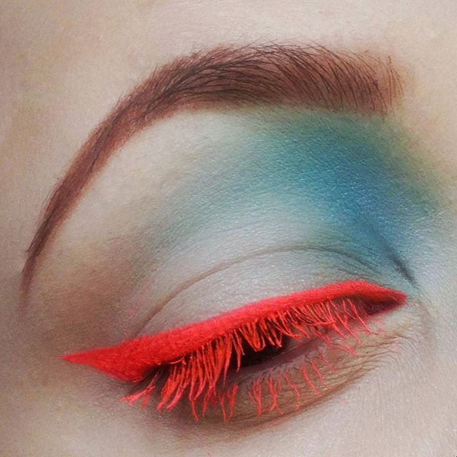 Makeup inspired by the very talented _dausell 😍_