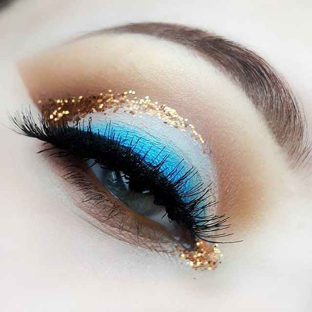 💙💛_Makeup inspired by _priscillaavanit