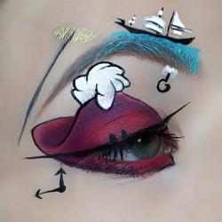 Disneybounding #6_Hook from _Peter Pan_ (my favorite 😍)_#Disney #dineybound #disneybounding_#Disney